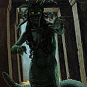 Gorgon Medusa Poster