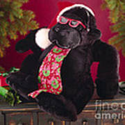 Gorilla With Shades-faa Poster