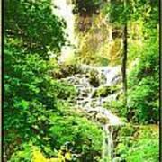 Gorman Falls Poster