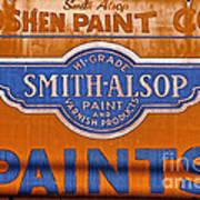 Goshen Paint Company Poster