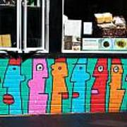 Gossip By Thierry Noir Poster