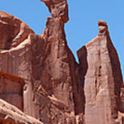 Gossips At Arches National Park Poster