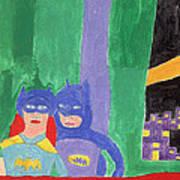 Gotham Heroes  Poster