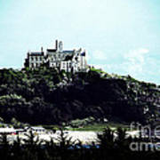 Gothic St Michael's Mount Cornwall Poster