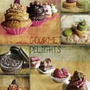 Gourmet Delights - Collage Poster