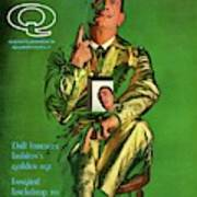 Gq Cover Featuring Salvador Dali Poster