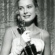 Grace Kelly At Awards Show Poster