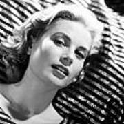Grace Kelly Poster by Silver Screen