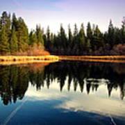 Grace Lake Northern California Poster