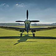 Graceful Spitfire Hdr Poster
