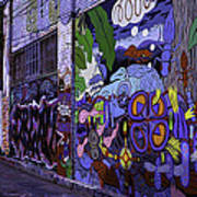 Graffiti Alley San Francisco Poster