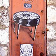 Graffiti Poster by Roberto Alamino