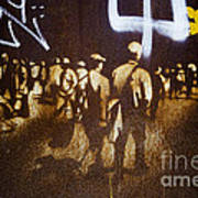 Graffiti Walk Together Poster