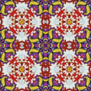 Graffito Kaleidoscope 40 Poster