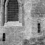 Granada Cathedral Monochrome Poster