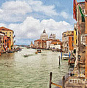 Grand Canal Apartment Poster
