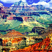 Grand Canyon After Monsoon Rains Poster