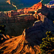 Grand Canyon At Sunset Poster