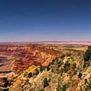 Grand Canyon Desert View Watchtower Panorama Poster