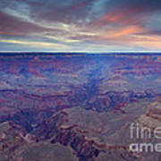 Grand Canyon Dusk Poster by Mike  Dawson