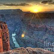 Grand Canyon First Light Poster