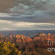 Grand Canyon North Rim Sunset Poster