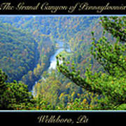 Grand Canyon Of Pennsylvania Wellsboro Poster