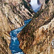 Grand Canyon Of Yellowstone Poster by Bill Gallagher