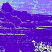 Grand Canyon Purples Poster