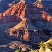 Grand Canyon Sunset Ridge Poster