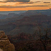 Grand Canyon Sunset Wim Poster