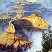 Grand Canyon View Poster by Lee Piper