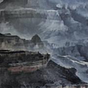 Grand Canyon Watercolor Poster