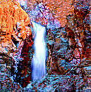 Grand Canyon Waterfall Poster