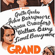 Grand Hotel, Us Poster, Top From Left Poster