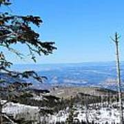 Grand Mesa Co North Side Valley View Poster