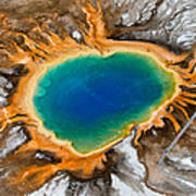 Grand Prismatic Spring II Poster