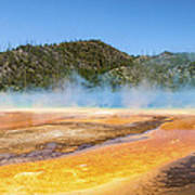 Grand Prismatic Spring - Yellowstone National Park Poster
