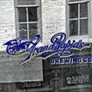 Grand Rapids Brewing Poster