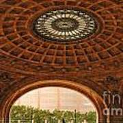 Grand Rotunda Pennsylvanian Pittsburgh Poster by Amy Cicconi