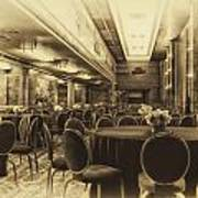 Grand Salon 05 Queen Mary Ocean Liner Heirloom Poster