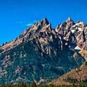 Grand Teton Mountain Poster
