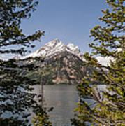 Grand Teton On Jenny Lake - Grand Teton National Park Wyoming Poster