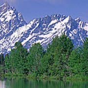 Grand Tetons National Park Wy Poster