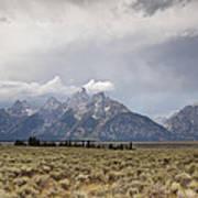 Grand Thunder - Grand Teton National Park - Wyoming Poster