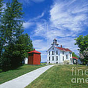 Grand Traverse Lighthouse Poster