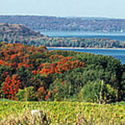 Grand Traverse Winery Lookout Poster