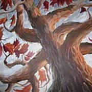 Grandeur Of Tree Poster