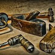 Grandfathers Tools Poster
