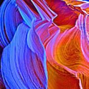 Grandma's Hair In Lower Antelope Canyon In Lake Powell Navajo Tribal Park-arizona Poster